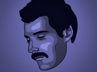 Freddie Mercury Illustration