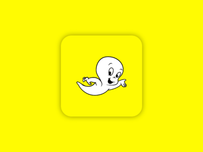 Casper the friendly Snapchat