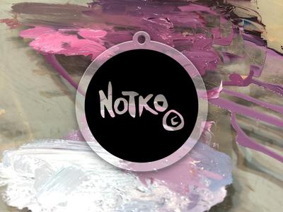 Fine Art Logo Sticker Mule Rebound branding logo