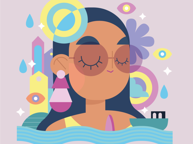 Medusa for kids by anxelica alarcon on Dribbble