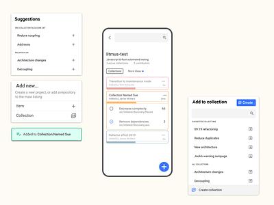 Light, mobile, enterprise? todolist tasks product design material design mobile