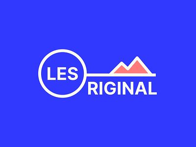 Les Original brand funsies branding design identity branding