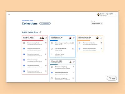Code quality platform collections webapps angular webapplication webapp design material icons material design webapp