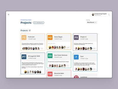 code quality platform project lens devops devtools analytics redesign lightweight ux design product design material design