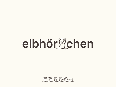 elbhoernchen but make it funny toys branding character design childrens brand
