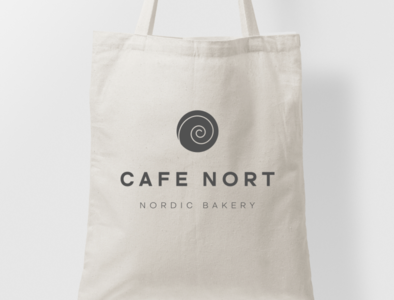 Cafe Nort tote bag -alternate design