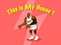 D. Wade - this is my house