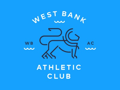 West Bank Athletic Club lion logo