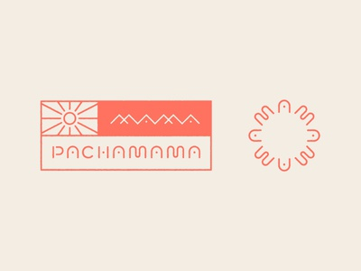 Pachamama Alt Marks lettering logo