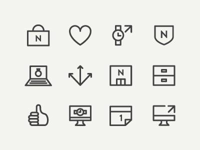 N icons