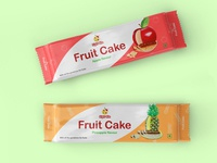 Fruit cake packaging
