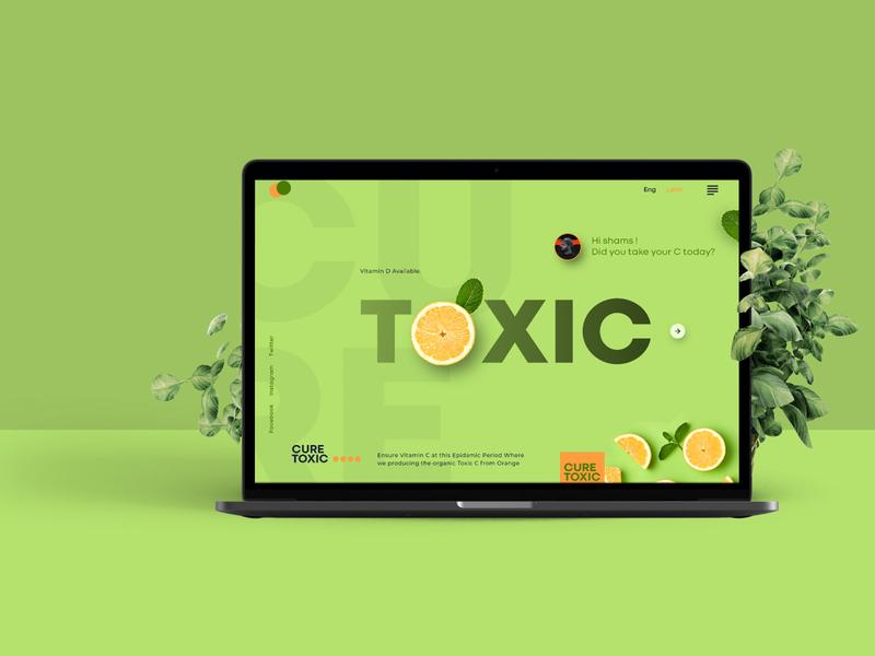 VitaminC Provider Website for Covid 19 | Corona Virus design app covid-19 vitamin d vitamin c covid19 coronavirus logo website webdesign web ux ui
