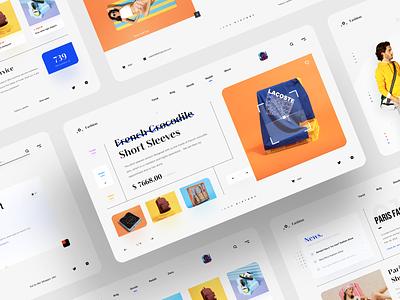 Fashion website(7) website design we web design webdesign website web illustration 应用 team icon app 设计 ux ui design