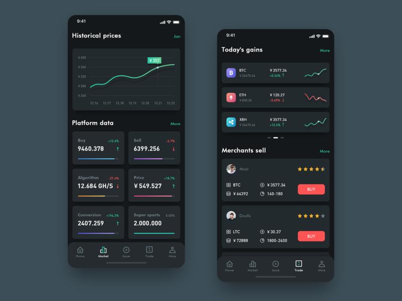 Block chain team 应用 设计 icon ux app ui design