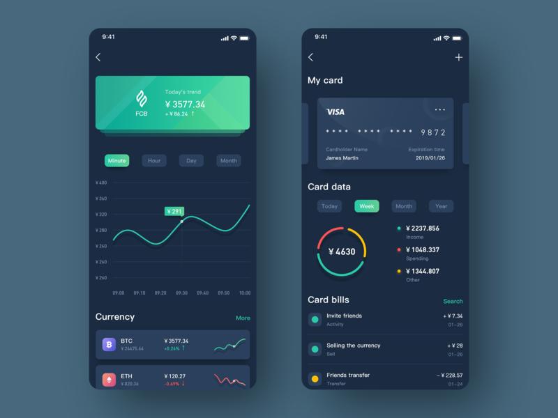 Block chain 应用 team 设计 icon ux ui app design
