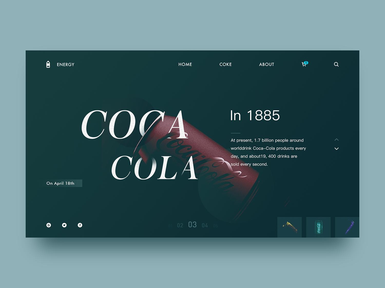 Coca Cola team icon vector plan illustration 设计 ux ui design