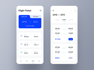 Trip ticket photo plan 应用 team icon 设计 app ux ui design