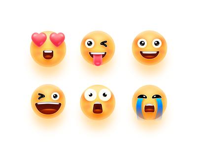 Emoticon package logo illustration 设计 icon ux ui design