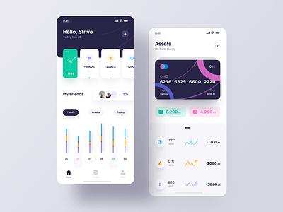 Block chain team icon app 设计 ux ui design