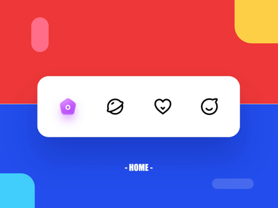 Friends and fun animation icon app 设计 ux ui design