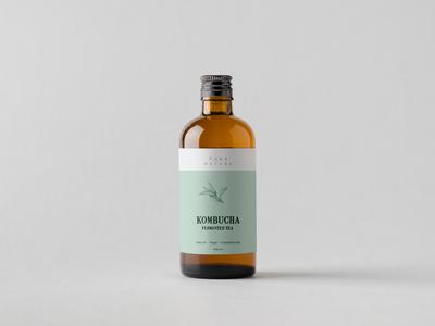 Kombucha packaging design