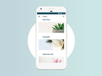 Plants App Concept - Urban Gardening App