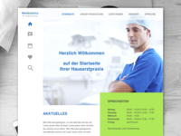 Medical clinic II Landing page
