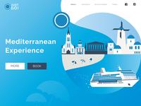 Mediterranean - Illustration Website