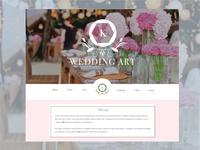 Wedding Website Landingpage