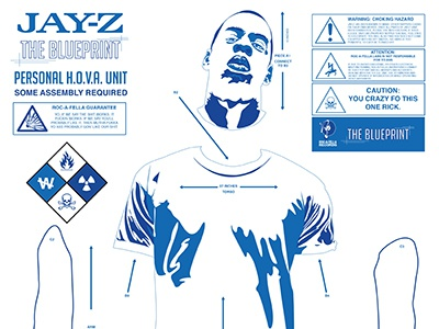 Jay z the blueprint poster by nick spanos dribbble jay z poster blueprint nick spanos small malvernweather
