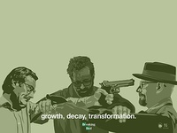 Breaking Bad Growth Decay Transformation