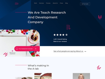 A-Agency PSD Template