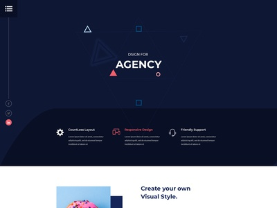 CreativePro – Agency PSD Template