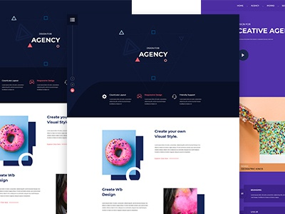 CreativePro - Agency PSD Template