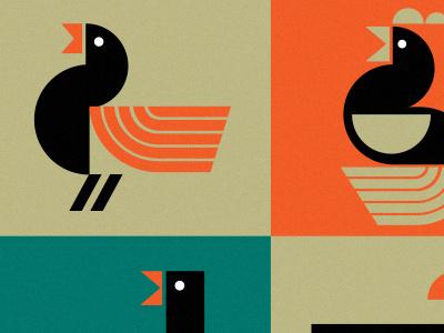 Birds bold simple logo icon birds illustration bird