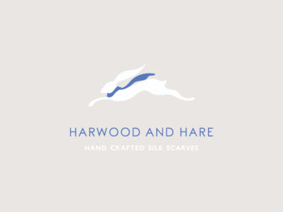 Harwood and hare logo design