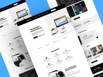 Software Company/Agency Landing Page Concept