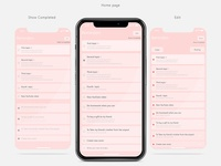 Apple Reminders - redesign
