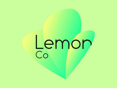 Lemon Co Logo minimalist fresh fruity logo designer logo design logodesign logotype logos artist graphic  design typography branding design ui logo vector illustrator illustration