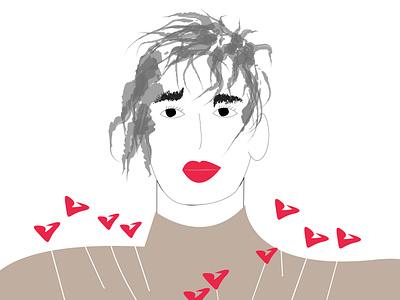 Tingling Sensations illustrations illustration art artwork artsy nyc emotions graphic  design artist vector illustrator illustration