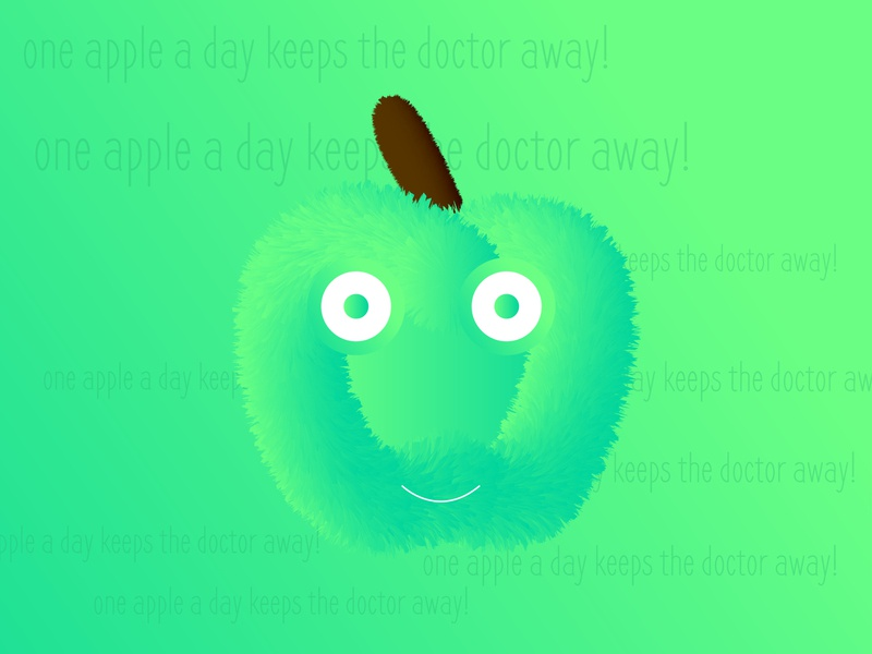 One Apple A Day Keep The Doctor Away