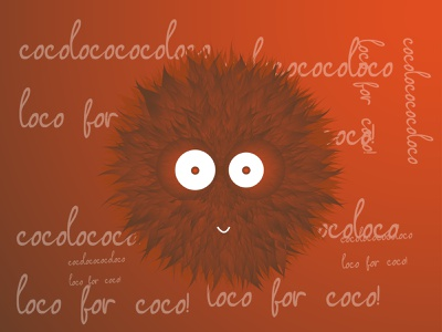 Coco Loco! illustrations typography art graphic  design artist vector illustration illustrator 3d artist 3d art 3d