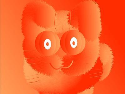 Meow design vectorart 3d art graphicdesign graphics vector 3d artist cat illustrations nyc 3d