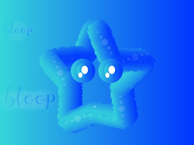 Starfish Bloop Bloop illustration art graphic  design artist vector illustration digital illustration design illustrator design illustrators illustrator cc illustrator art illustration illustrator 3d illustration 3d 3d artist 3d modeling 3d art