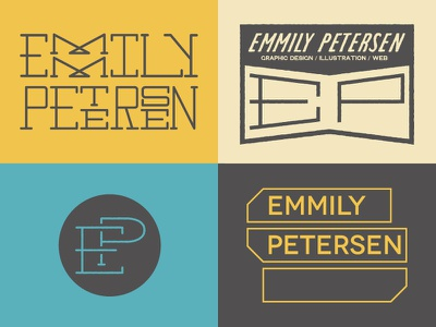 EP More Logo Possibilities logo branding mark