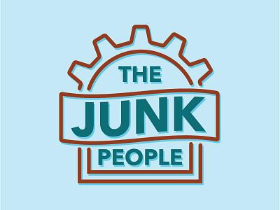 The Junk People junk people simple junk logo