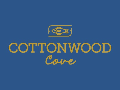 Cottonwood Cove logo restaurant