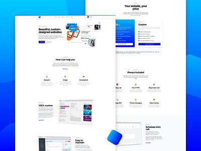 Portfolio Website web development design website portfolio web design