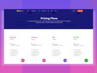 CryptoCurrency Pricing Table
