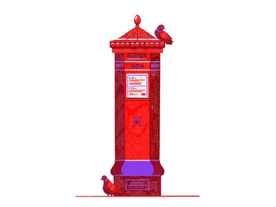 🐦✉️🐦 london post mail